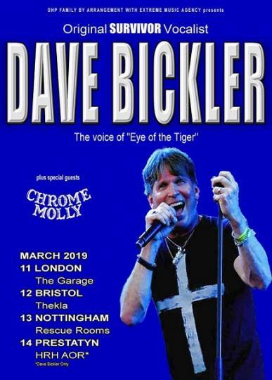 Dave Bickler - Original Survivor vocalist comes to the UK | Music