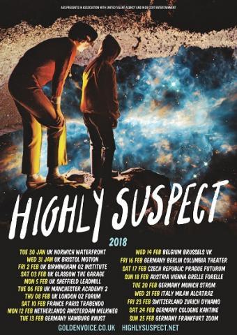 Highly Suspect - Announce 2018 UK tour | Music Trespass
