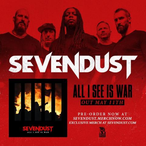 Sevendust - All I see is War   Music Trespass